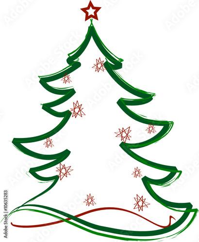 Disegno Albero Di Natale Stilizzato Albero Di Natale Con La Pasta