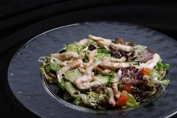 The Asian salad