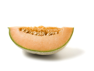 cantaloupe melon slice