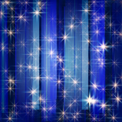 white stars in blue