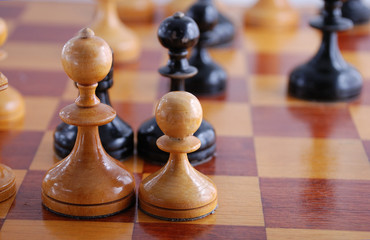 opposition white black in chess