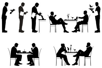 Restaurant_silhouettes
