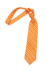 Neck tie isolated on the white background