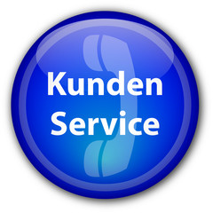 Kunden Service Web Knopf