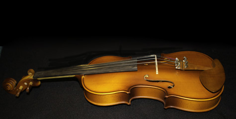 Geige längs