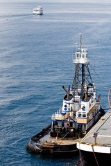 Tugboat at Ship