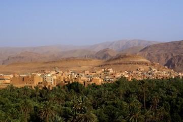 Village de Tinghir au Maroc