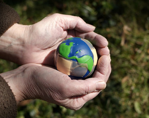 caring for an injured earth