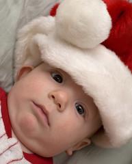 shocked holiday baby