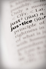 Dictionary Series - Law: justice
