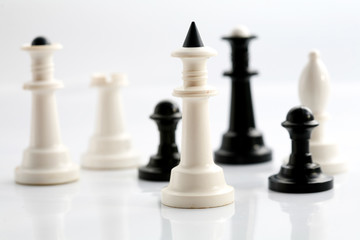 chess on board