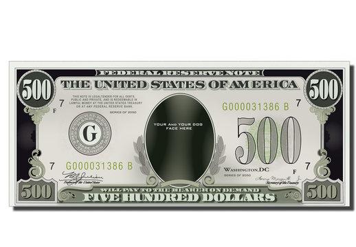USA game Banknote