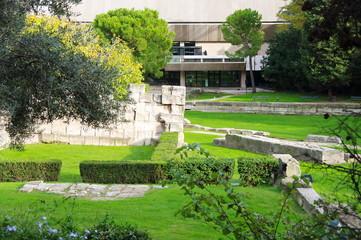 Jardin public, Marseille. France.
