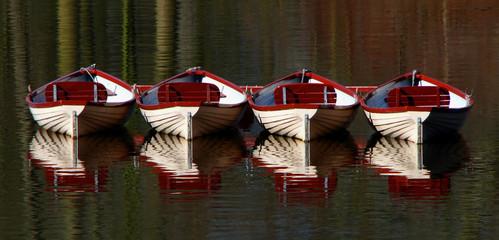 die Vier Boote
