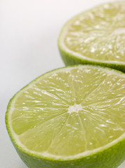 Halved Fresh Lime