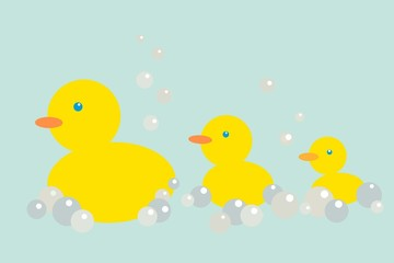 bubble ducks