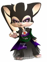 Little Gothica - Toon Figure