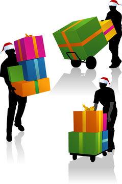 Livraison express des cadeaux