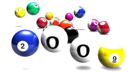 billiards balls 2009