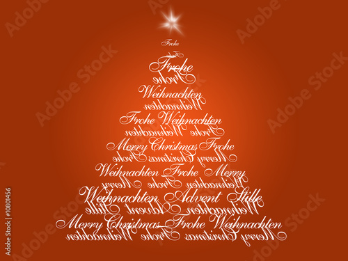 weihnachten weihnachtsbaum schrift stockfotos und. Black Bedroom Furniture Sets. Home Design Ideas