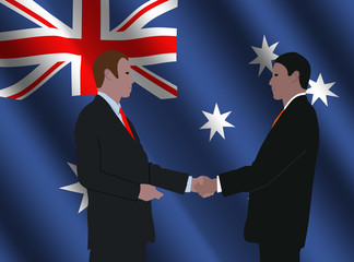 Australian business meeting
