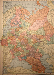 map,vintage,antique,old,russia,