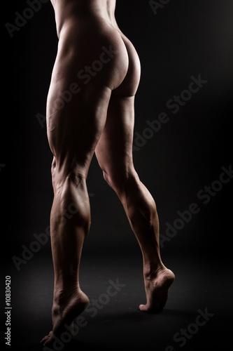 footdom po rasieren mann