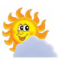 Sun on cloud