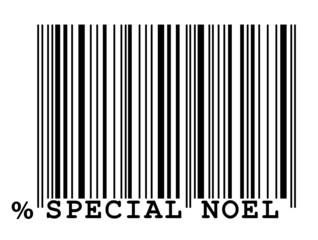 "Code-barre ""Spécial Noël"""