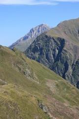 Le Pic du Midi de Bigorre vu du col de Bareilles (Pyrénées)