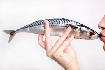 Fisch Kuss