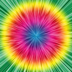 sfondo arcobaleno circolare