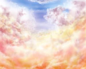 Impressionist clouds