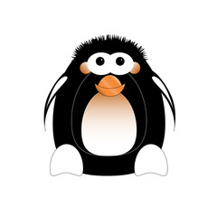 Illustrated penguin