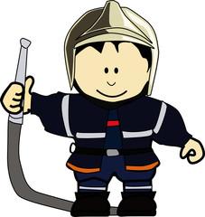 K - pompier