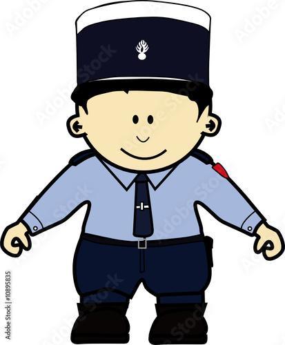 K gendarme fichier vectoriel libre de droits sur la - Gendarme dessin ...