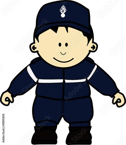 K policier fichier vectoriel libre de droits sur la - Gendarme dessin ...