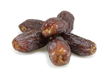 Six dried dates