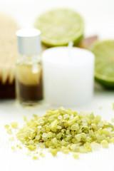 lime bath salt