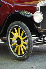 Red Vintage Automobile