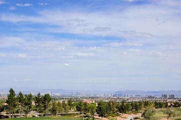 Las Vegas Skyline from Summerlin