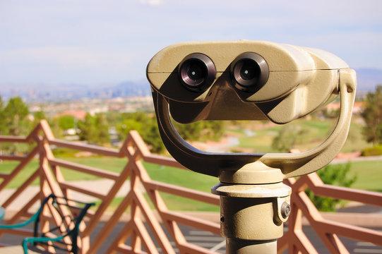 Sightseeing Binoculars, Summerlin, Las Vegas, nevada