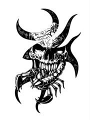 Skull scorpion