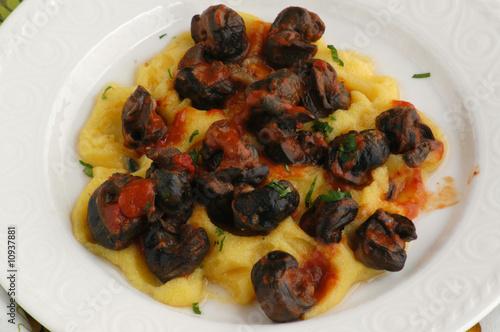 Lumache alla vicentina - Secondi - Cucina del Veneto\