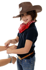 Cowgirl at Work