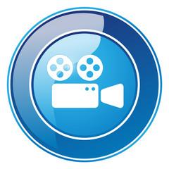 Kinokamera, Projektor - Button