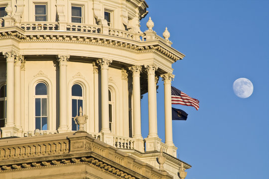 Lansing, Michigan - State Capitol