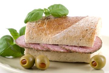 Salami Baguette