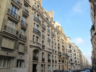 Rue de Paris, France.