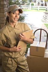 Delivering package